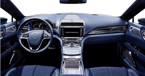 林肯大陆轿车复兴指望中国市场,设计风格和功能配置东方化色彩渐浓